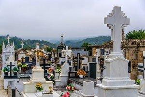 christian graveyard, cemetery