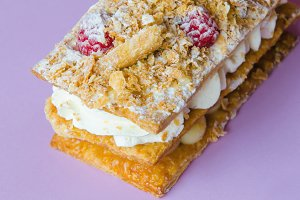 costrada, mille-feuille