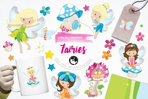 Fairies illustration pack