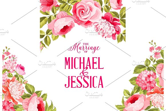 Marriage Invitation Card
