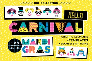 Hello Carnival! Vector collection.