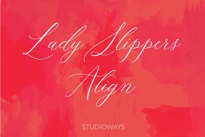 Lady Slippers Align 30% OFF!
