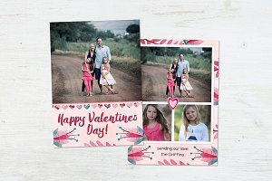 Valentine's Card | Floral Bloom