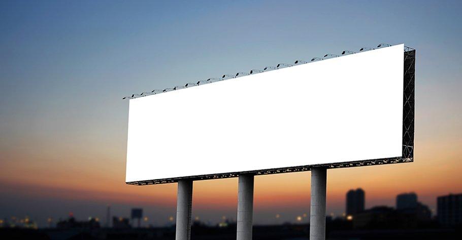 Image result for blank billboard