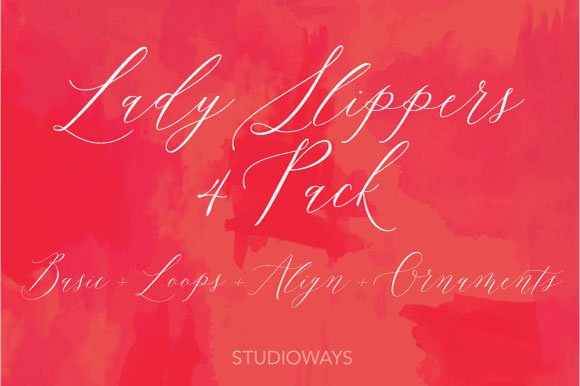 50% OFF Lady Slippers Basic 4 Pack