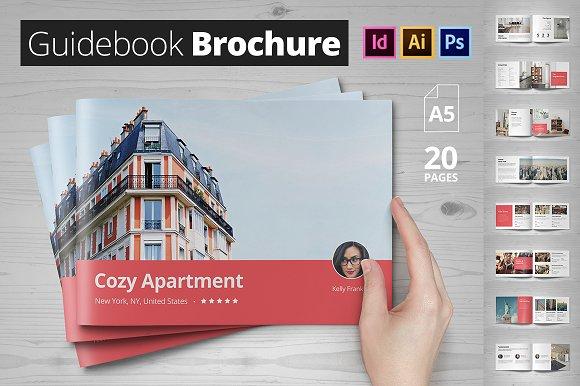 guidebook brochure brochure templates creative market