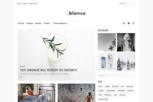 Blanco - Creative Blog Theme