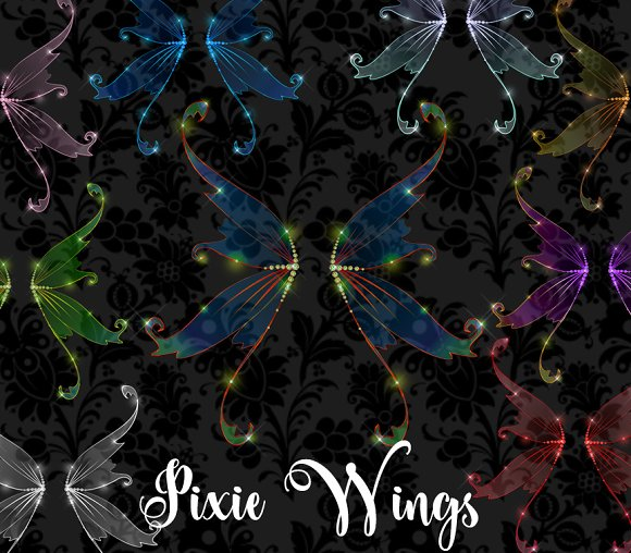 Pixie Wings Clipart
