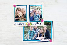 Easter Card | Blue Frames