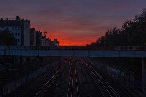 Bloody Sunset