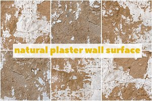 75% SALE Natural plaster surface