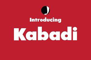 Kabadi-Big Font