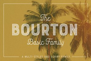 Bourton Basic Pack • 22 Fonts