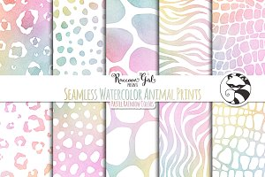 Seamless Animal Prints pr