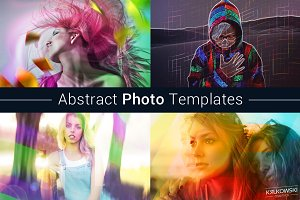 Abstract Photo Template