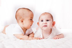 Babies talking, humor