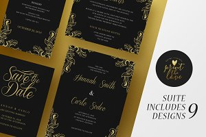 Wedding Invitation Suite - Hannah