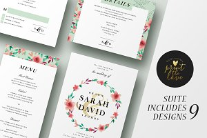 Wedding Invitation Suite - Sarah