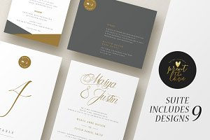 Wedding Invitation Suite - Marya