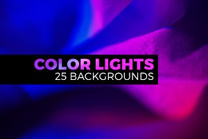 Abstract light & color landscapes