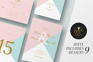 Wedding Invitation Suite - Annie