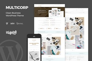 Multicorp - Clean Business WP Theme