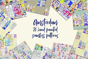 35 Amsterdam patterns