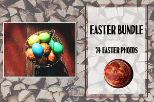 Easter photo set of 75 photos