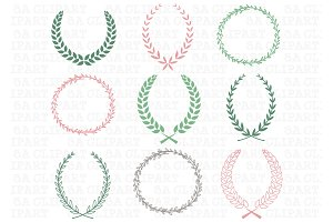 Wedding Laurels Clipart