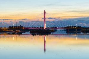 Royal Bridge over Guadiana River