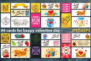 Greeting Cards: love and sweets