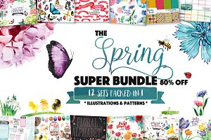 All in One - Spring Design Bundle