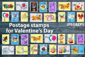 Post Card Valentine's Day
