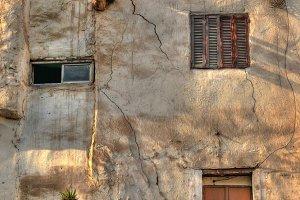 Facade and windows in Cairo