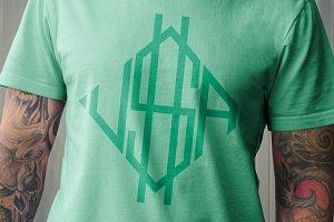 U$A t-shirt design