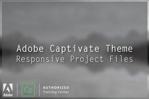 """Sand Dune"" Adobe Captivate Theme"