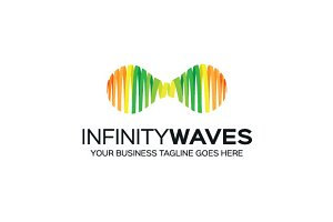infinity-waves Logo Template