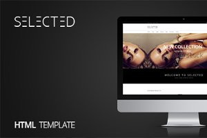 Selected - Creative Shop Template