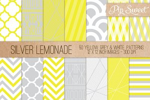 Silver Lemonade 50 Pattern Set