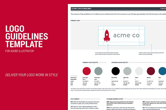 Freebie: brand style guide template every-tuesday.