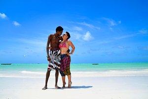 Interracial Love in Paradise