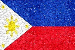 Philippines Grunge Flag