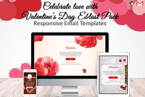 3 Valentine's Day Email Templates