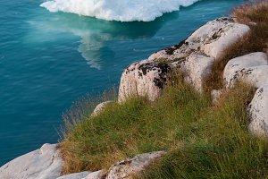 Coast of Greenland with Iceberg #01