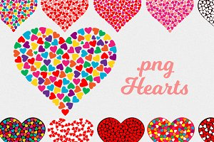 Valentine's Day clipart hearts/.png