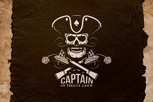 Pirate Captain Logo