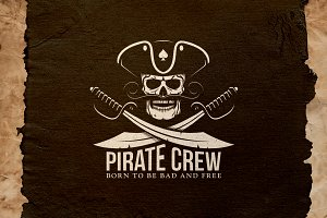 Pirate Crew Logo