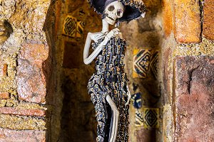 Mexican Sculptures, Day of the Dead