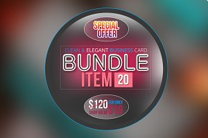 BUSINESS CARD BUNDLE ONLY $19