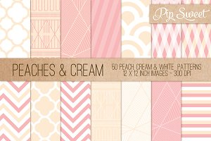 Peaches & Cream 50 Pattern Set